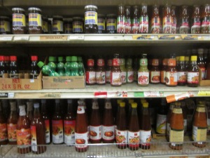 Thai condiments--good prices too!