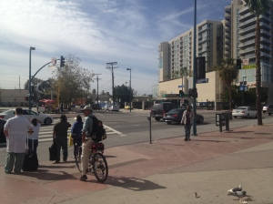 Redline terminus--NoHo station opens into Chandler
