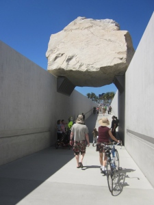 Remember the hype surrounding this levitated mass and all the energy involved to get it here? It's just a rock.