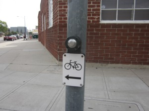 Why don't we have these beg buttons along 4th street at Highland and Rossmore?!